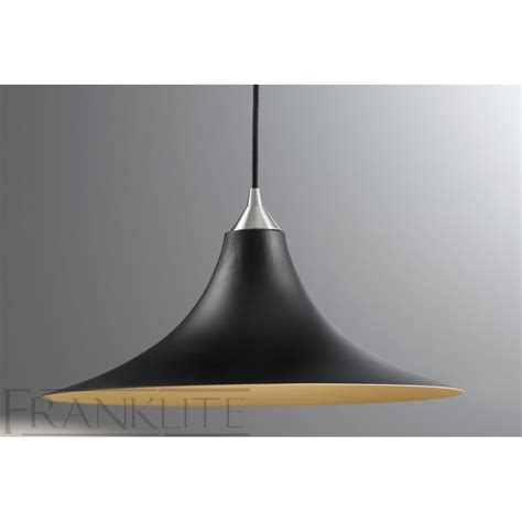 franklite fl2290 1 924 black glass single pendant light