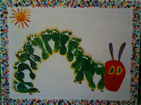 hungry caterpillar   footprints  fingerprint