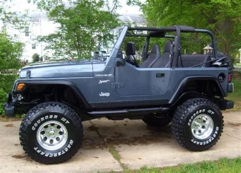 lifted jeep blue 2002 lifted jeep wrangler bing images jeeps