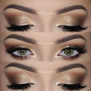 Melissa Samways » Blog Archive » ♡ Soft Smokey Eyes & Gold ...