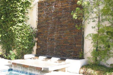 wall fountains outdoors design ideas