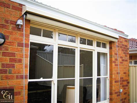 Fixed Aluminum Window Awnings