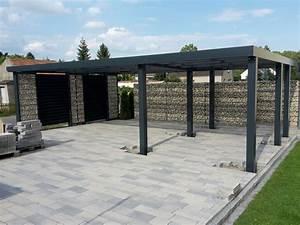 Carport Bausatz Alu : gabionen carport steelmanufaktur ~ Yasmunasinghe.com Haus und Dekorationen