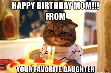 Funny Birthday Memes For Mom - happy birthday mom quotes