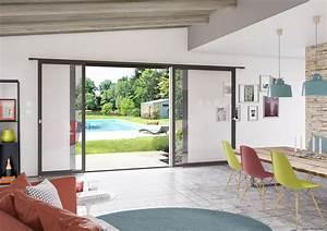 Porte à Galandage Prix : porte baie vitree coulissante prix fenetre coulissante sur ~ Premium-room.com Idées de Décoration