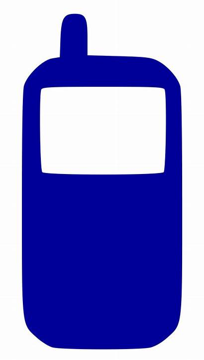 Phone Icon Cell Svg Mobile Symbols Telephone