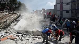 Un poderoso terremoto de magnitud 7,1 sacude México en el ...