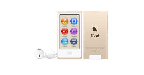 ipod touch 6th 16gb ipod nano gold apple