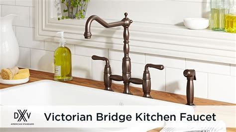 Victorian Bridge Kitchen Faucet by DXV   YouTube