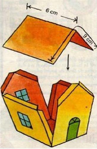 comment fabriquer une maison en papier 5 233