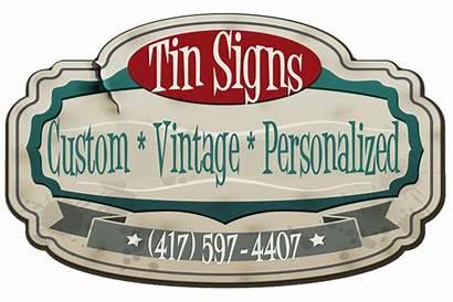 Signs Custom Tin Retro Antique Sign Country