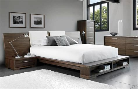 White Modern Queen Bed  The Holland  Protagonist Of The