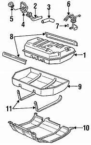 Chevrolet K1500 Suburban Fuel Filler Neck  Upper  Lower
