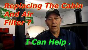 How To Replace The Air And Cabin Filter On A 2006 Chrysler