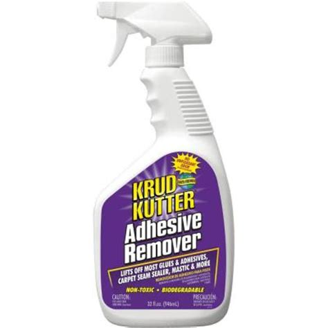 Tile Adhesive Remover Home Depot by Krud Kutter 32 Oz Adhesive Remover Ar324 The Home Depot