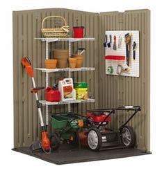 rubbermaid silver steel steel storage shed anchor fg5k9200