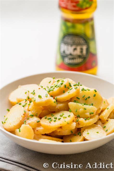 cuisine addict grumbeeresalat salade de pomme de terre alsacienne