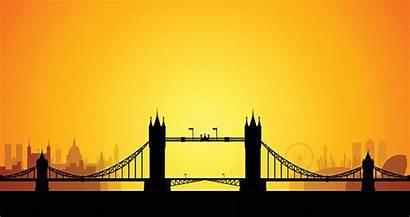 London Tower Vector Clip Bridge Illustrations Vectors