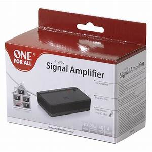 Amplificateur Tv 4 Sorties : one for all sv 9640 sv 9640 achat vente c ble ~ Dailycaller-alerts.com Idées de Décoration