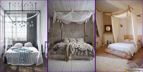 baldacchino per letto matrimoniale baldacchino fai da te 20 idee per un letto chic
