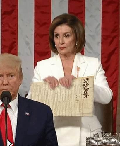 Pelosi Ripper Nancy Rips Trump Sotu Speech