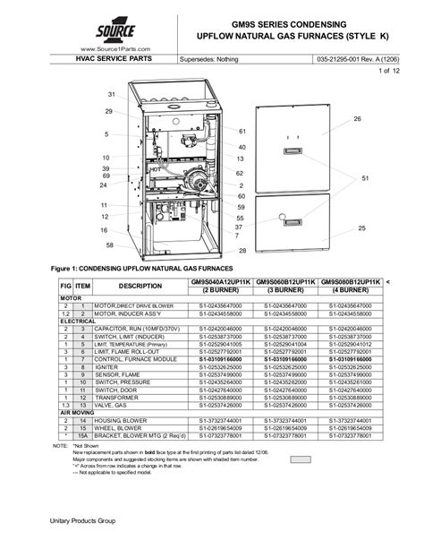 Wiring Heat Diagram York Coleman by 44 Furnace Parts Diagram Intertherm Parts Diagram