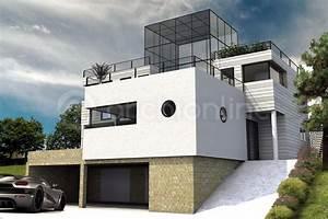 maison contemporaine 100m2 maison moderne With plan maison moderne 100m2