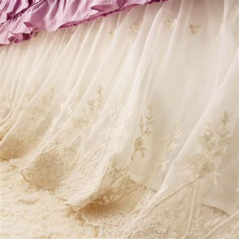 floor and decor coupon lace bed skirt