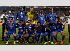 Team picture of FC Goa players during ISL match Goalcom