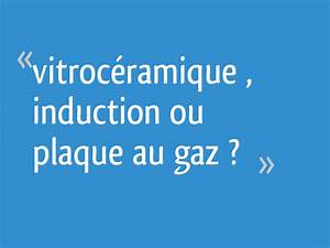 Induction Ou Vitroceramique : vitroc ramique induction ou plaque au gaz 109 messages ~ Melissatoandfro.com Idées de Décoration