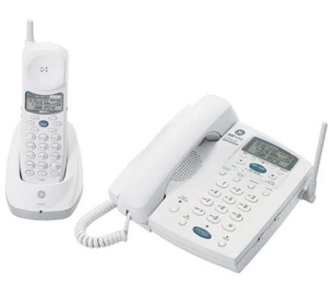 phone number for qvc ge 26958 900mhz cordless phone with caller id call waiting