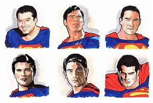 Portrait of Henry Cavill, Brandon Routh, Tom Welling, Dean ...