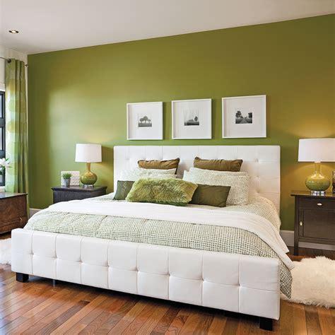 chambre decoration décoration chambre vert kaki