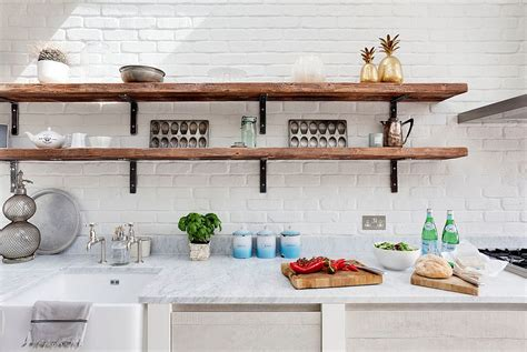 pineapple home decor kitchen 20 rustic kitchen shelving ideas with timeless rugged charm