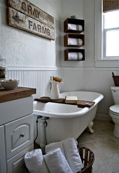 creating  beautiful bathroom  farmhouse design