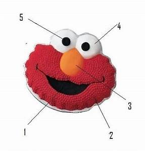 10 best images about elmo cake on pinterest sesame With elmo template for cake