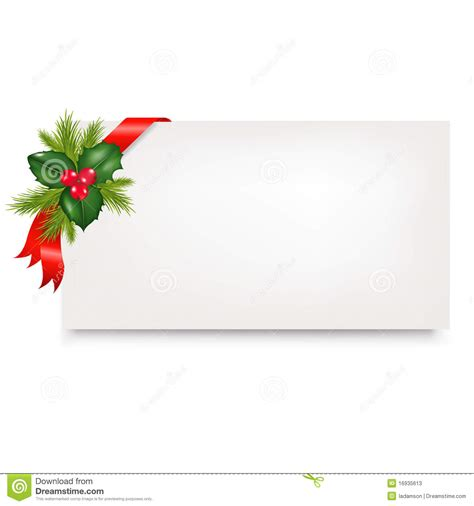 christmas blank gift tag vector stock photos image