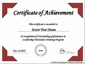 powerpoint podiums With certificate of accomplishment template