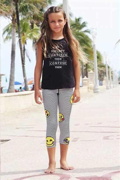 Leggings Limeapple Capri Preteen Little Clothing Tricia