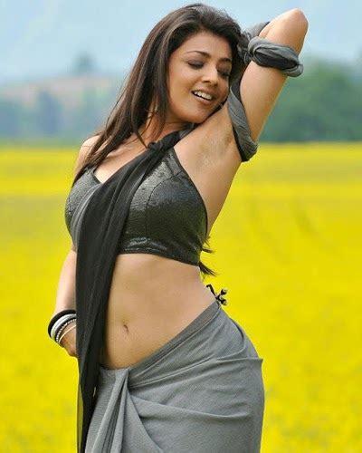 Lg Moviee Kajal Agarwal Hot In Saree Photos