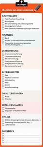Erste Wohnung Checkliste : ihre checkliste zur adress nderung beim umzug umzug pinterest ~ Orissabook.com Haus und Dekorationen