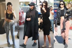 balenciaga ash grey see the jenner family wearing yeezy boost