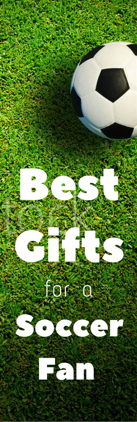 awesome gift ideas for a soccer fan