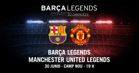 The Team Line-Ups For Man Utd vs Barcelona Legends Match Are Extremely Unbalanced - SPORTbible