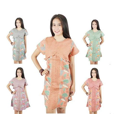 jual dress batik remaja dress pesta casual dress batik