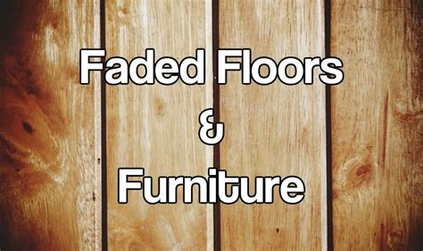 how to restore faded outdoor light fixtures fix the problem of uv damage to floors carpets and