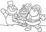 Santa Coloring Printable Cool2bkids sketch template
