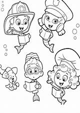 Guppies Bubble Coloring Pages Printable Sheets Bubbles Print Template Study Worksheets Guppy Printables Preschool Parentune Momjunction Open sketch template