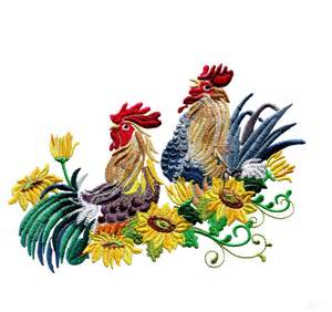 embroidery designs swnrr126 rooster embroidery design