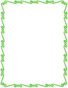 resume template google docs download on computer green spirals border page frames spiral border green spirals border png html
